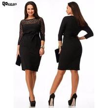 Fashion Plus Size 5XL 6XL Casual Women font b Dress b font Summer Party font b
