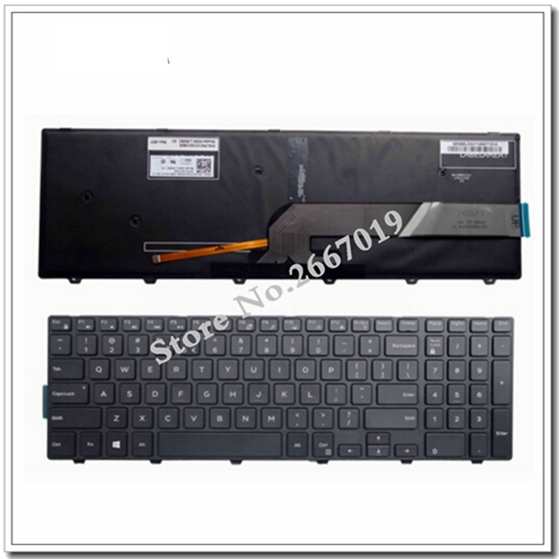 New For Dell Inspiron 15 5551 5555 5558 5552 5559 5557 Hebrew Keyboard
