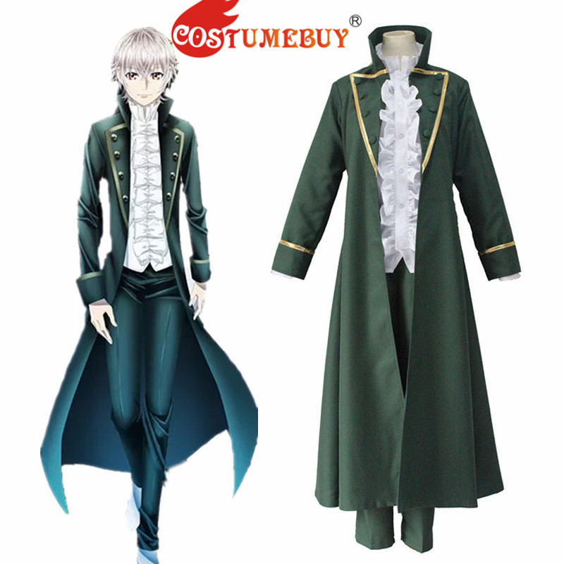 CostumeBuy Anime K SEVEN STORIES Isana Yashiro Mens Uniform Cosplay Costume Boys School Party Suit L920