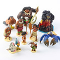 Disney Kid Toys New Cartoon Anime Movie PVC Moana Action Figure Set Collectible Model Toys For Kids Best Kids Toy