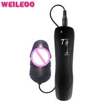 7 Speed LED свет пуля вибратор секс-игрушки для взрослых женщины секс-игрушки для женщины Mini вибраторов для женщин секс-игрушки вибрирующее яйцо