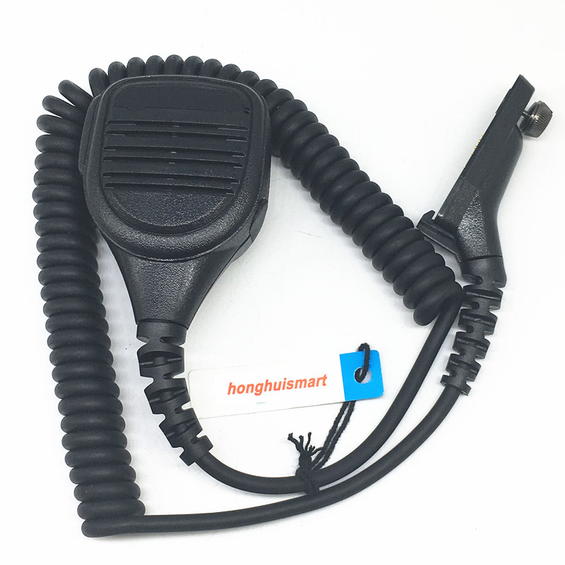 Honghuismart Microphone Speaker With 3.5mm Jack For Motorola XIR P8200 8260 XPR6550 XPR6300 DP3400 DP4800 Etc Walkie Talkie