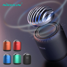 Mini Speaker Luxury Music Bluetooth Sound Box NILLKIN Bt Speaker Computer System Portable TWS Bluetooth Speaker With Subwoofer bluetooth speaker nillkin 2 in 1 phone charger power bank music box speaker portable multi color led light lamp outdoor bedroom