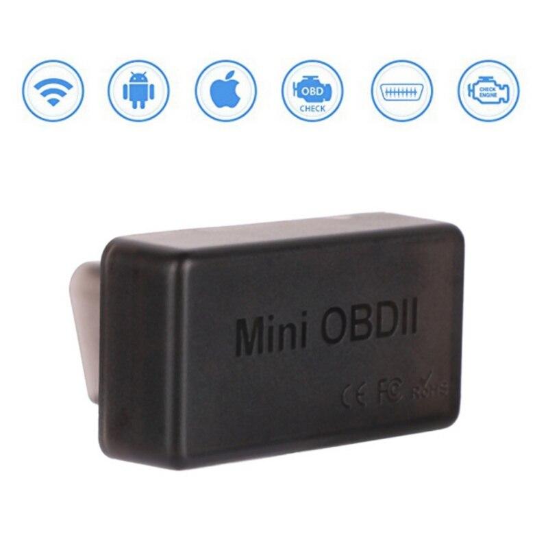 2018 Code Reader ELM327 Wifi Funktion Mini Ulme 327 V1.5 OBDII Scan Tool check engine licht Super OBD Diagnose