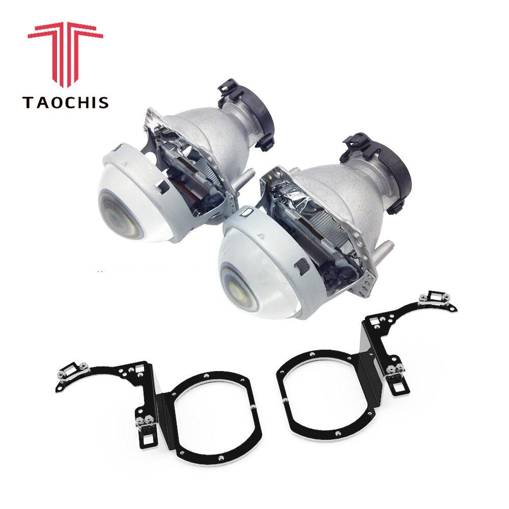 TAOCHIS style de voiture transition cadre adaptateur Hella 3R G5 Projecteur objectif rénovation Support pour SUBARU TRIBECA B9 USA 2006-2007