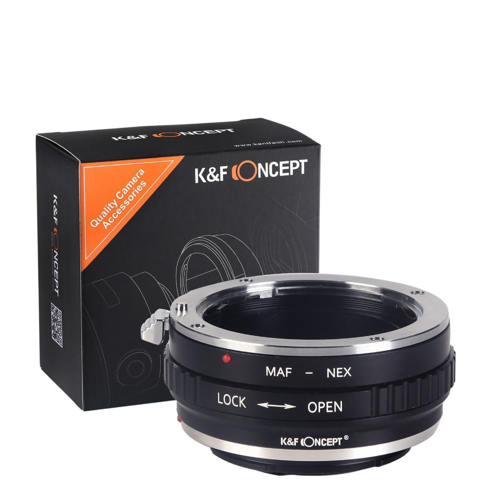 K&F CONCEPT MINOLTA (AF) -NEX Lens üçün Adapter üzüyü Minolta - Kamera və foto - Fotoqrafiya 6