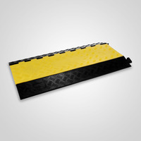 Modular Rubber 5 Cable Warehouse Electrical Snake Cover Protector Ramp Track
