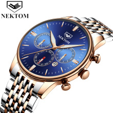 цены Steel belt business waterproof watch men's fashion watch men's quartz watchs machine