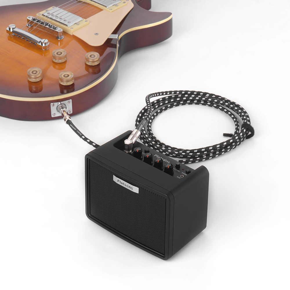 FGA-3 гитарный мини-усилитель 6 * AA батареи USB блок питания Портативная колонка с усилителем для акустической/электрической гитары укулеле