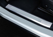 Interior Stainless Door Sill Plate Frame Cover Trim 4PCS For Volvo XC60 2018