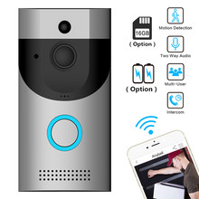 Anytek Wireless WiFi Video Doorbell Camera IP Ring Door bell Two Way Audio APP Control iOS Android Battery Powered(China)
