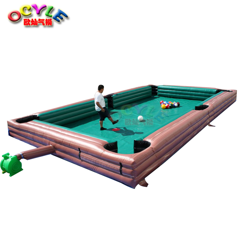 цены free air shipping to door,8*5m/12*6m inflatable football snook ball table,billiard snooker pool table soccer