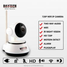 ip камера Беспроводная Ip-камера wi-fi камера 720 P HD Wifi Камера Ночного Видения Беспроводной P2P Wi-Fi Камеры Безопасности Ик Ик Движение Активированный DT-C8815
