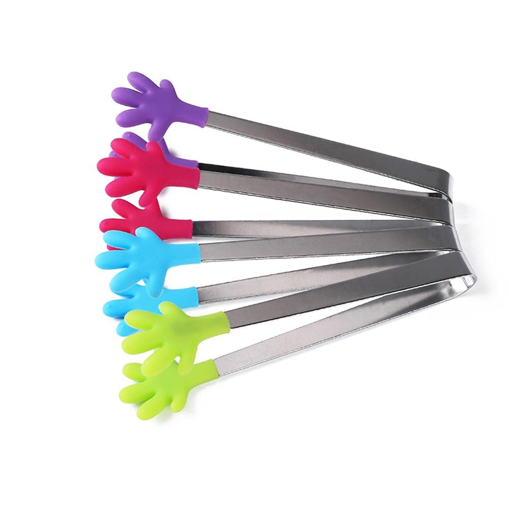Premium Mini Tongs Stainless Steel Mini Cooking Tongs Kitchen Gadgets
