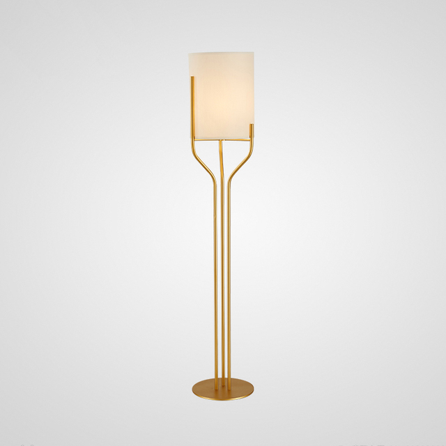 brass floor lamp e27 led modern home style floor lamps shadowless ...