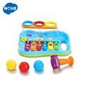 Juguete instrumento Musical bebé niño niños 8 notas música juguetes regalo sabiduría inteligente desarrollo Musical juguete