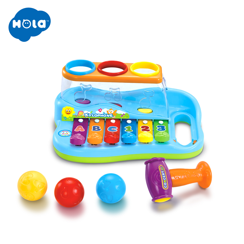 Toy Musical Instrument Baby Child Kids 8-Note Music Toys Gift Wisdom Smart Clever Development Musical Toy