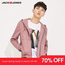 b03feba6 JackJones для мужчин свет Вес куртка с капюшоном спортивная верхняя одежда  swear одноцветное цвет 2019 новый