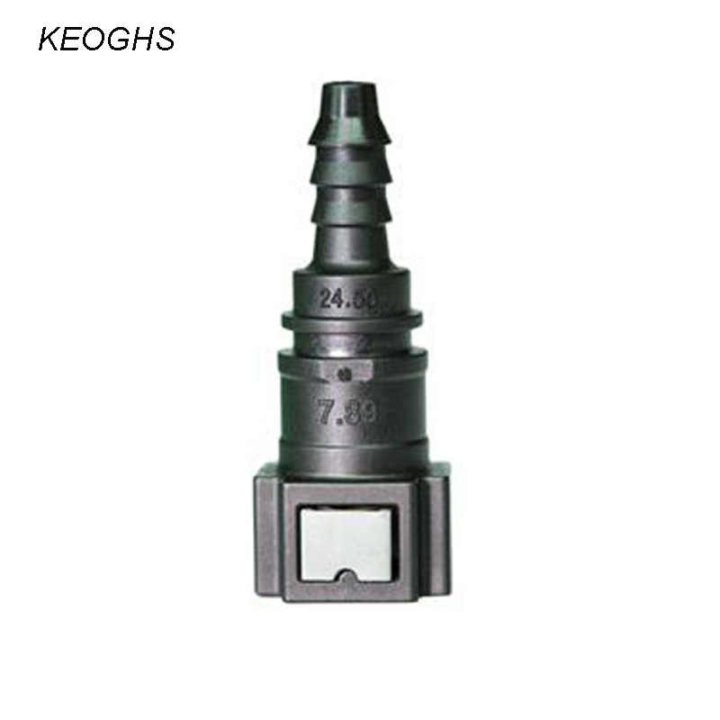 KCSZHXGS 7.89 series car fuel quick connector for 6-8mm fuel hose male female straight quick connector  1pc