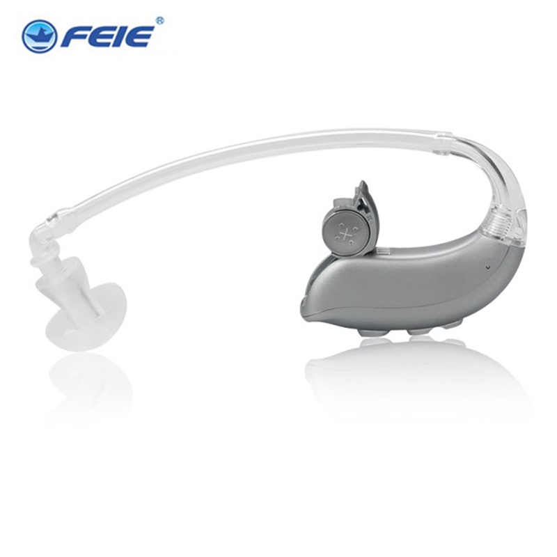 все цены на feie deaf products self adjusting hearing aid digital MY-16 for severe to profound hearing loss free shipping