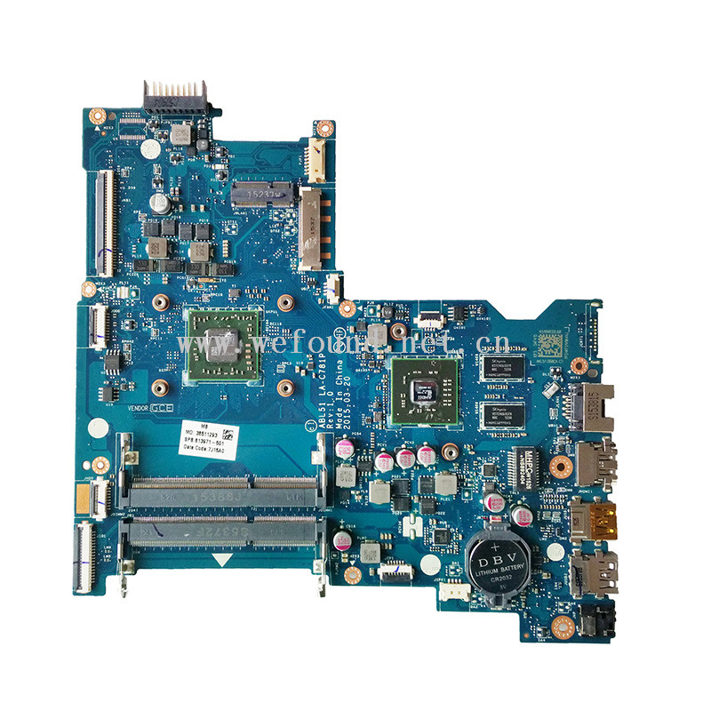 laptop Motherboard For 813971-501 813971-601 813971-001 15-AF A8-7410 LA-C781P system mainboard Fully Testedlaptop Motherboard For 813971-501 813971-601 813971-001 15-AF A8-7410 LA-C781P system mainboard Fully Tested