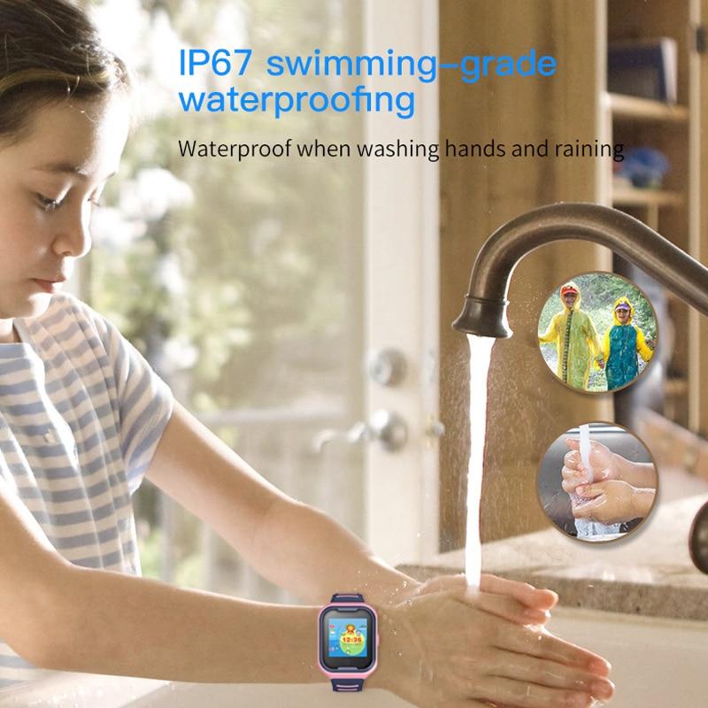 Image 2 - Kids Smart Watch 4G Wifi GPS Tracker Smartwatch Kids 4g Watch Phone Video Call Waterproof Smart Watch for Child Clock PK Q50 Q90-in Smart Watches from Consumer Electronics