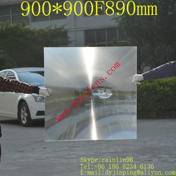 large size fresnel lesn for solar ,900*900mmF890mm,long focus lens,solar collecting doumoo 330 330 mm long focal length 2000 mm fresnel lens for solar energy collection plastic optical fresnel lens pmma material