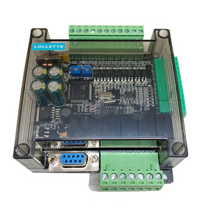 Image 5 - LE3U FX3U 14MR 6AD 2DA RS485 8 input 6 relay output 6 analog input 2 analog (0 10V) output plc controller  RTC (real time clock)
