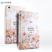 Gview Case For Ipad Mini 3 2 - 3D Embossed Luxury Designer  Smart Stand Case 3D Embossing For Ipad Mini 2 Cover In Fashion Style