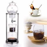 600ML Iced Coffee Maker Dutch Espresso Coffee Ice Coffee Cold Drip Water Drip Coffee Maker Serve For 8 Cups Percolators Dripper