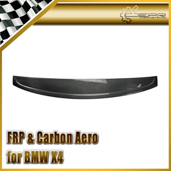 Car Styling For BMW X4 2015 F26 3D Style Carbon Fiber Roof Spoiler