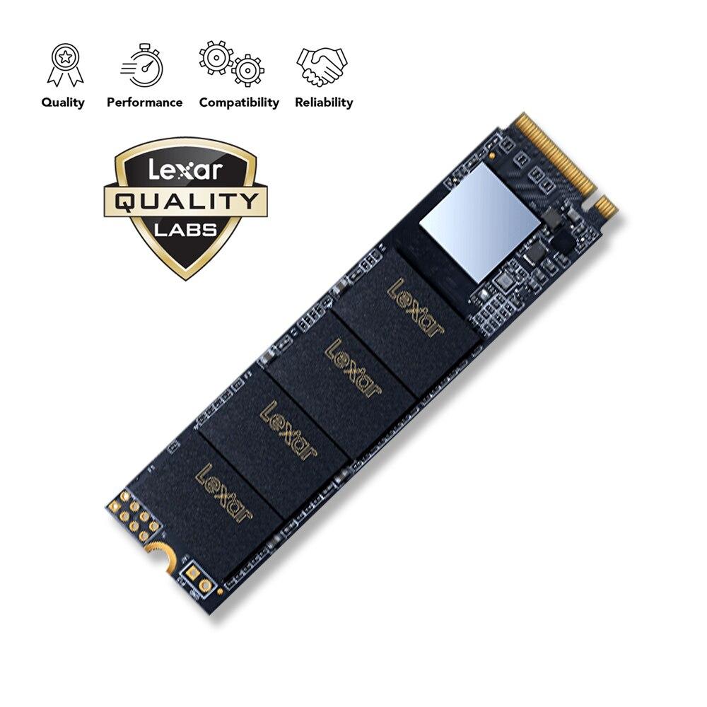 Lexar SSD 2100 mo/s 240 GB 480 GB M.2 2280 NVMe PCIe Gen3x4 disque dur à semi-conducteurs interne pour ordinateur portable