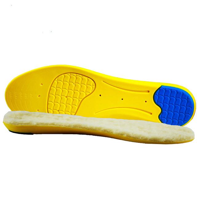 Sorrynam palmilhas almofada sapato quente engrossado absorvente almofada do pé fascite plantar palmilhas para sapatos das mulheres dos homens acessórios
