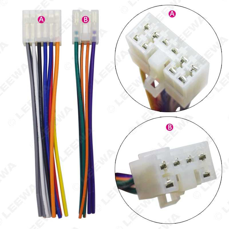 LEEWA Car Audio Stereo Wiring Harness Adapter Plug For Toyota/Scion on
