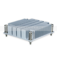 High Quality 1U Server CPU Cooler Radiator Heatsink For Intel 1150 1155 1156 I3 I5