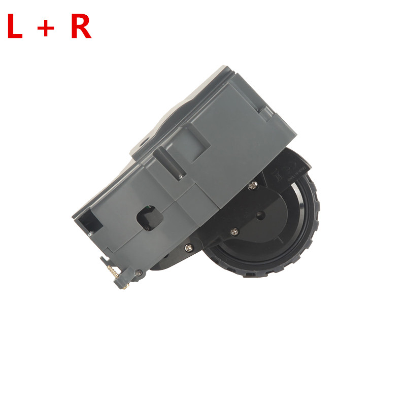 L+R Wheels replacement for irobot roomba 800 Series 870 871 880 885 Vacuum Cleaner Parts irobot roomba wheel accessories parts 1 piece robot vacuum cleaner wheels including right wheel assembly replacement for a320 a325