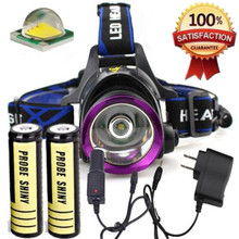XM-L T6 LED Headlamp Headlight Flashlight Head Light Lamp 18650 Outdoor  Bicycle Cycling Accessories HIgh Quality May 11