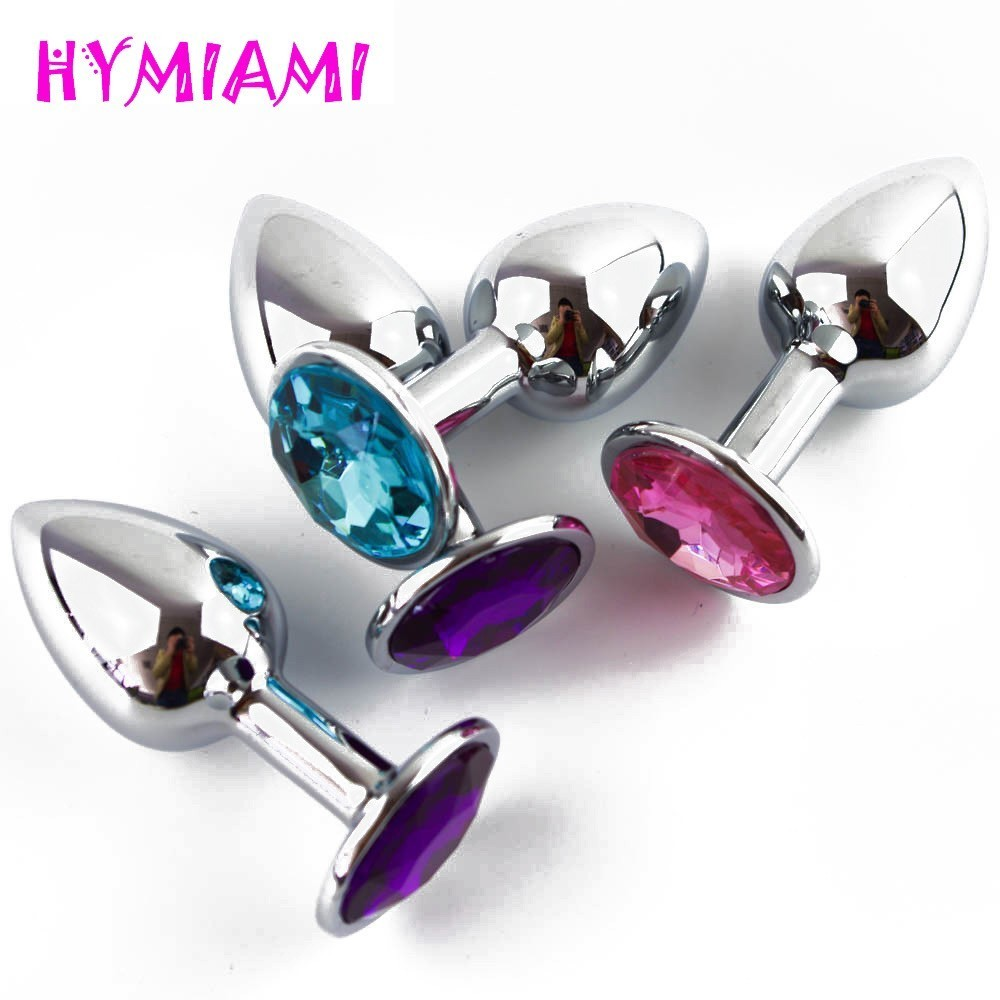 2016 Sex 3 Size Metal Anal Toys Butt Plug Stainless Steel Anal Plug, Sex Toy for Women Sex Products For Adults Sex Toys Men sodandy stainless steel anal plug metal butt plug adult sex toys thru hole buttplug sex products for women