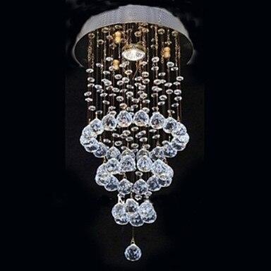 Lustres, Modern LED Crystal Ceiling Lamp Lights With 1 Light For Living Room Bedroom Lighting Lustre De Cristal Free Shipping