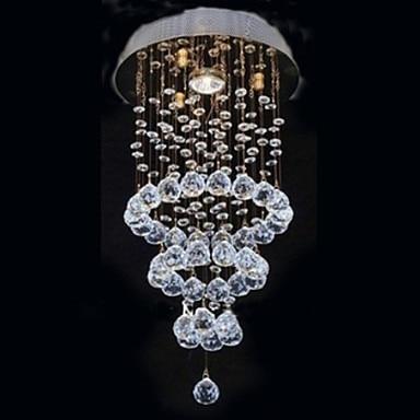 lustres moderne led cristal plafonnier lumi res avec 1. Black Bedroom Furniture Sets. Home Design Ideas