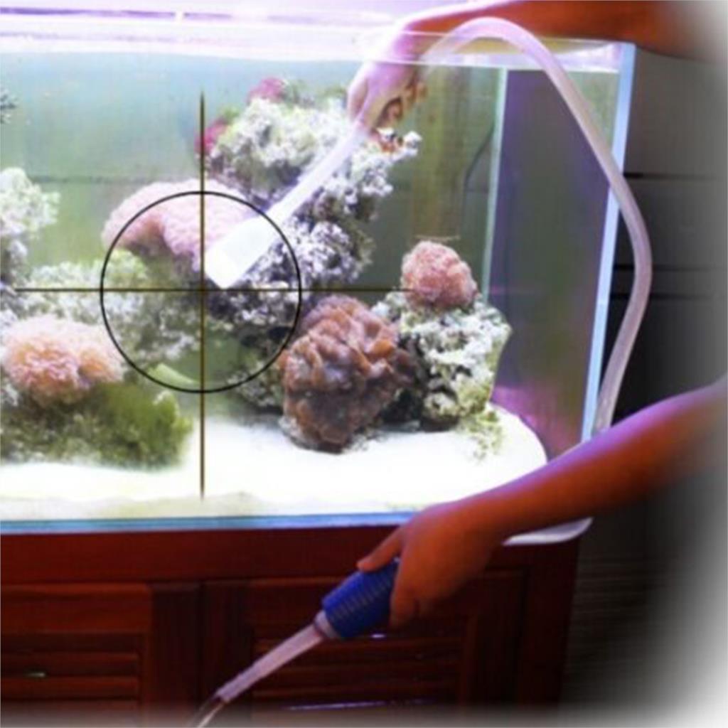 Fish tank syphon - Hot Mini Fish Hose Tank Filter Gravel Cleaner Vacuum Pump Water Changer Siphon Aquarium China