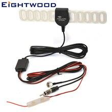 Eightwood Автомобильная авто антенна F разъем для цифрового ТВ FM DVB-T T2 DVD радио усилитель лобовое стекло крепление