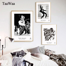 TAAWAA Black and  White Elvis Presley Vintage Rock PosterPrint Nordic Wall Art Canvas Painting Decorative Picture Home Decor