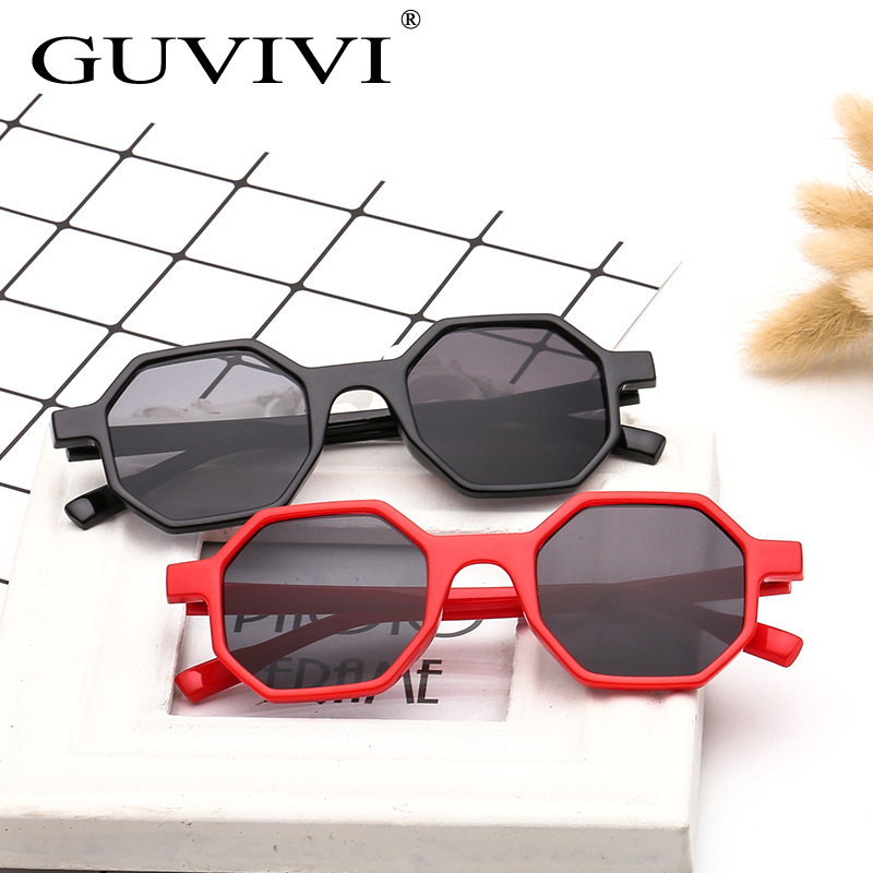 7115b77a35 Detail Feedback Questions about New Classic Retro Hexagonal Sunglasses  Vintage Small Glasses Geometric Frame Clear Lenses UV400 Shades Eyewear  Accessories ...