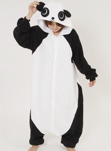 472c85cd737cb0 R$ 105.74 20% de desconto|Kawaii Panda Todo Unisex das Mulheres Pijamas de  Inverno Pijamas Enteros Mercado Chinês Homens Macacão Cosplay Pijamas ...
