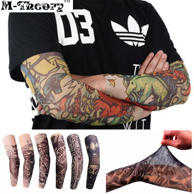 3D Tattoos Sleeve Arm Elastic Stockings Leggings Temporary Body Makeup 3d Tatuagem Henna Tatto Flash Tatoos Body Arts