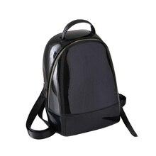 2018 Cute Women Jelly Backpack Female School Bag Brand Designer Luxury  Rucksack Summer Beach Knapsack for 62f3dd3f4e981