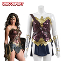 Wonder Woman Dress Cosplay Costume For Women Justice League Superhero Diana Prince Battle Suit Anime Sexy Adult Halloween Outfit