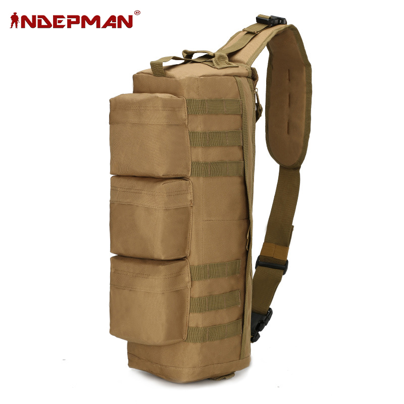 Nylon 600D Outdoor Assault Sling Bag Molle Backpack Tactical Shoulder Bag Messenger for outdoor war game activities Tactical bag