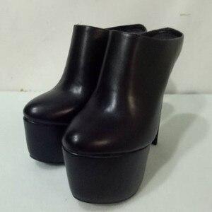SHOFOO shoes,Elegant beautiful women's shoes, PU fabric, about 16 cm high-heeled women's shoes, open-heeled women's shoes.